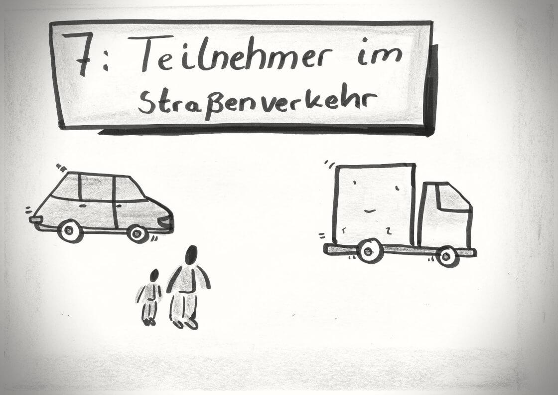 Fahrschultheorie - Lektion 7 - Theorie - Führerschein